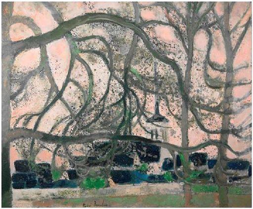André BRASILIER - Pintura - Village de Marcilly