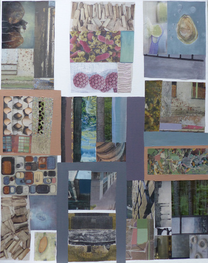 Christine GROSARU-BLETON - Gemälde - COLLAGES 6