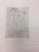 Pablo PICASSO (1881-1973) - Las tres bañistas