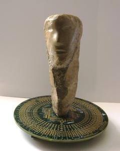 BLAZ 88 - Sculpture-Volume - HOMME DANS LA SPHERE NUMERIQUE