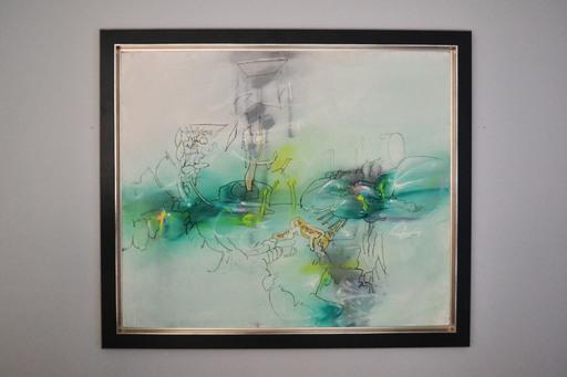 Roberto MATTA - Painting - Sans Titre (Untitled)