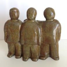Eva ROUWENS - Escultura - 3 copains