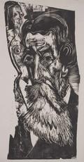 Ernst Ludwig KIRCHNER - Print-Multiple - Portrait of Ludwig Schames