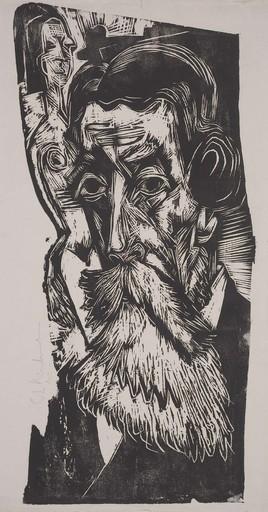 Ernst Ludwig KIRCHNER - Stampa Multiplo - Portrait of Ludwig Schames