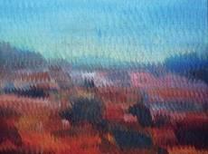 Vincent GUZMAN - Painting - Paradise lost 2  - huile sur toile