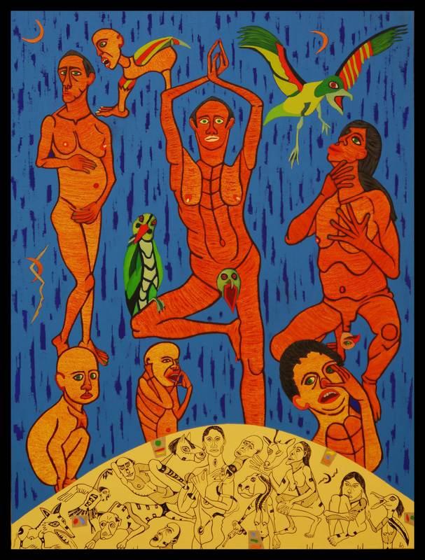 KEJ - Gemälde - L'esprit du Chaos