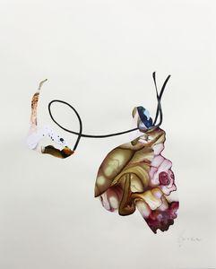 Diana HÖDING - Painting - Eingefangen