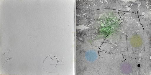胡安·米罗 - 版画 - Creation Miró MCMLXI
