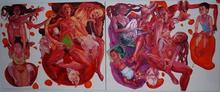 Maja OBRADOVIC - Pintura - Slojevi memorije (Memory layers)