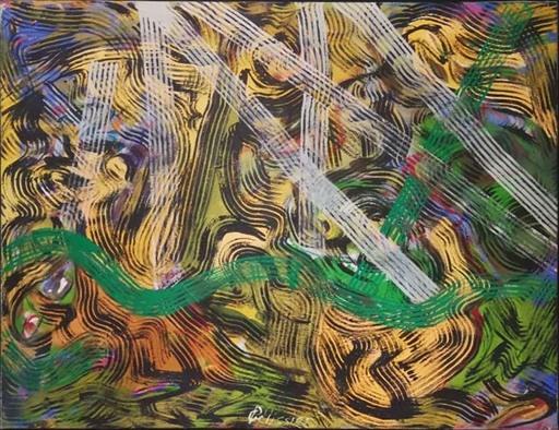 Gilbert PELISSIER - Pittura - Le Rêve d'ET