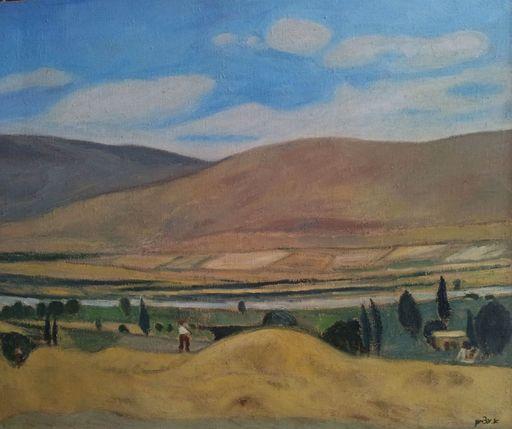 Avraham AZEMON - Gemälde - The Valley