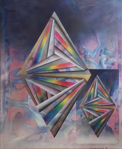 Rogelio POLESELLO - Peinture - Sur