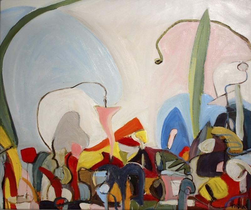 Monique ROLLINS - Painting - Spring Scape