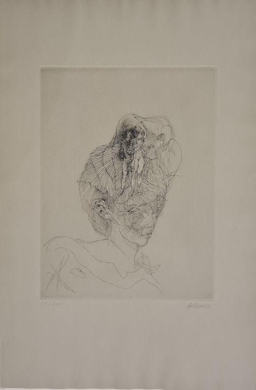 Hans BELLMER - Print-Multiple - Doriane au chapeau fille