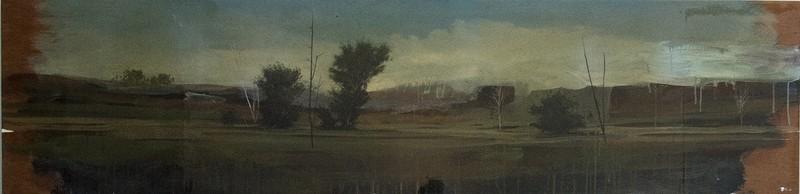 Peter HOFFER - Peinture - Panoramic No 2