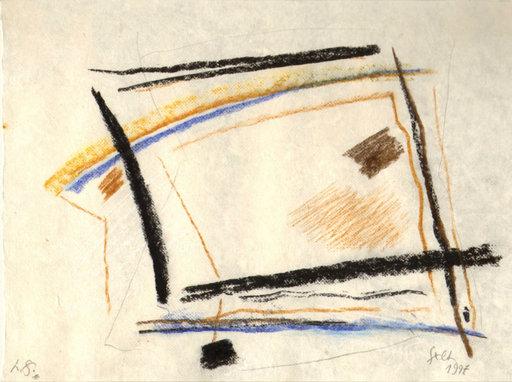Heinrich SIEPMANN - Disegno Acquarello - o.T. (abstrakte Komposition)