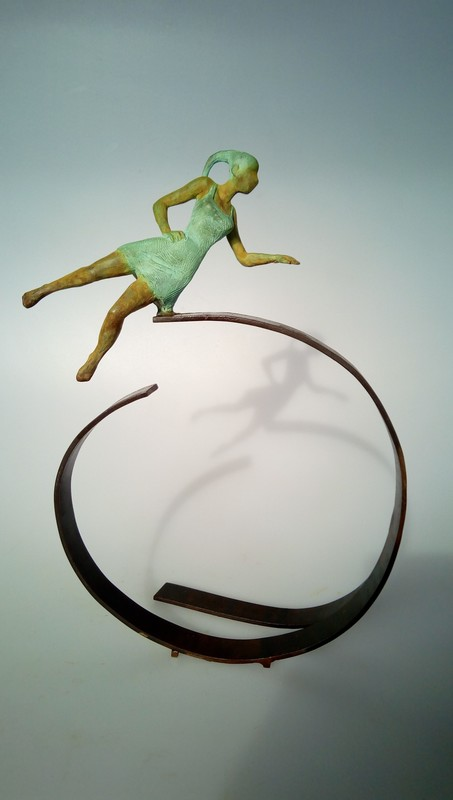 Joan ARTIGAS PLANAS - Sculpture-Volume - Small aerial II