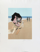Francis BACON (1909-1992) - Metropolitan Triptych (left panel only)