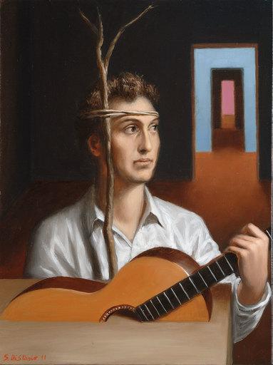 Stefano DI STASIO - 绘画 - Prima del suono