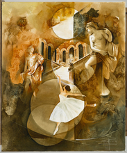 Roger SURAUD - Peinture - DANSEUSE ETOILE