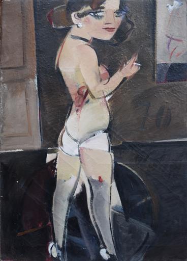Alberto MANFREDI - Pittura - Modella