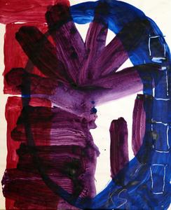 "Kimber SMITH - Dibujo Acuarela - ""The Blue Bomb """