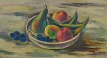 Bernard MENINSKY - Pintura - Fruits still-life
