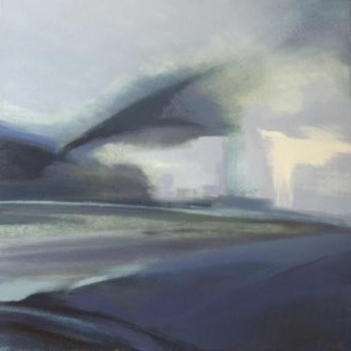 Ewa MAZUR-DEVAUX - Peinture - Autoroute 3