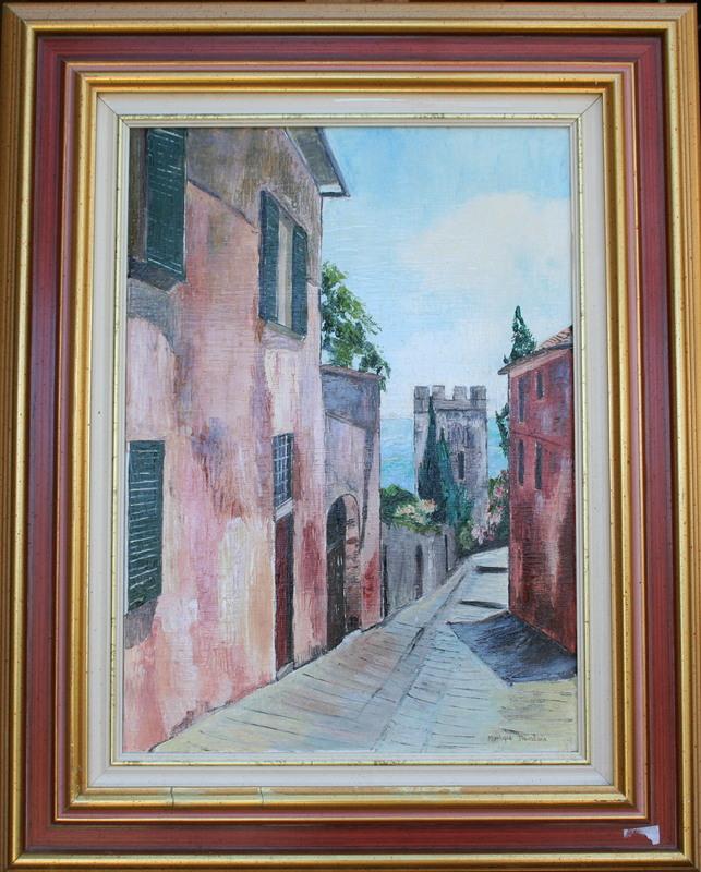 Monique DEVALOIS - Peinture - Rue de Toscane
