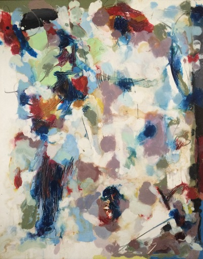Georges VAN HAARDT - 绘画 - Sans titre, 1975