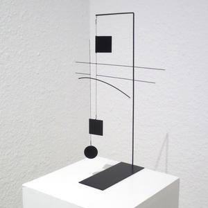 Odile DECQ - Skulptur Volumen - Spatial Lines