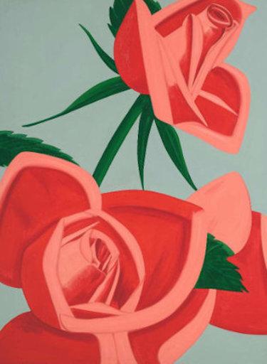 亚历克斯·卡茨 - 版画 - Rose Bud