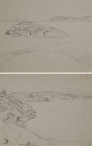 Nicolaj Konstantinov ROERICH, A Pair of Sketches