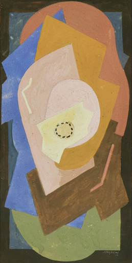 Albert GLEIZES - Drawing-Watercolor - Composition