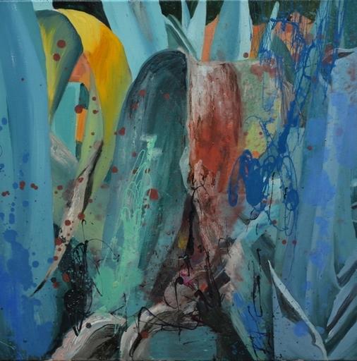 Peny MANAVI - Gemälde - Cactus 21