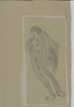 Reine BUD-PRINTEMS - Drawing-Watercolor - Ange Bror (Anges de Chine, dessins d'avril) Paris 2014