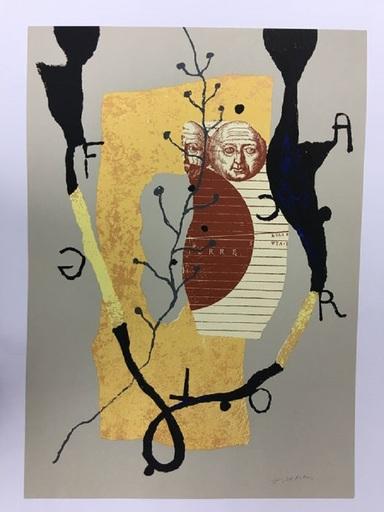 Richard TEXIER - Print-Multiple - Hommage à Federico Garcia Lorca
