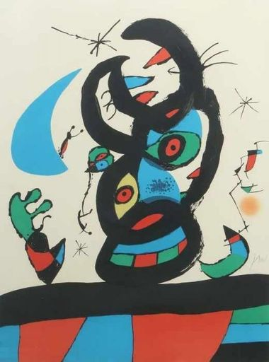 Joan MIRO - Estampe-Multiple - Montroig I