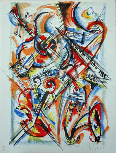 Roger LERSY - Print-Multiple - Composition Musicale