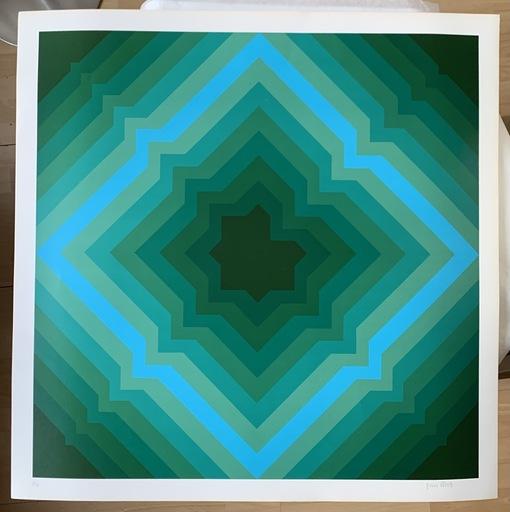 Jim BIRD - Print-Multiple - Jim Bird - tribute to Vasarely 1