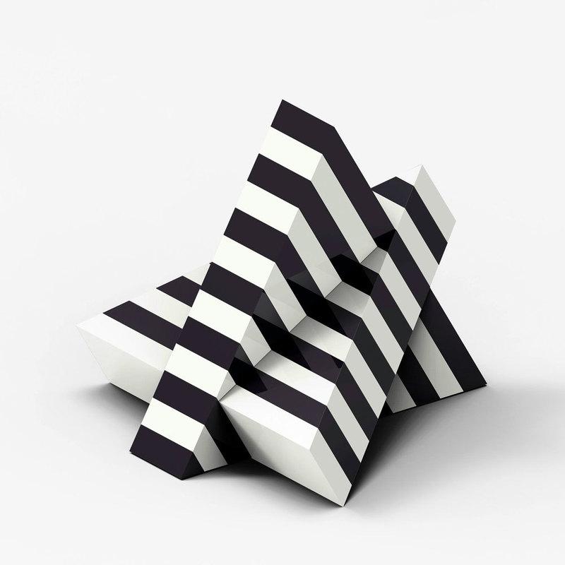 Marcello MORANDINI - Sculpture-Volume - Sculpture 665A