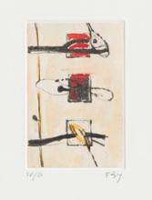 Enrico BAJ - Print-Multiple - Untitled