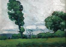 Marc-Aurèle FORTIN - Painting - Paysage