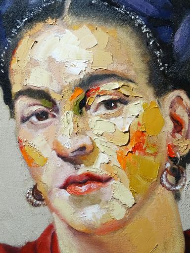 Pablo SCHUGURENSKY - Pittura - Frida Khalo
