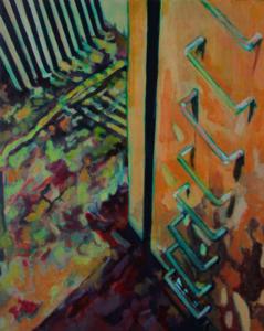 """Aude MOUILLOT - Painting - """"Focus Etang #2"""""""