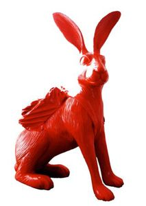 William SWEETLOVE - Estampe-Multiple - Cloned Hare with backpack