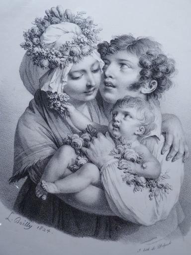 Louis Léopold BOILLY - Print-Multiple - Les Quatre Saisons & Ages de la Vie