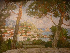 Konstantin Ivanovich GORBATOV, Island of Capri
