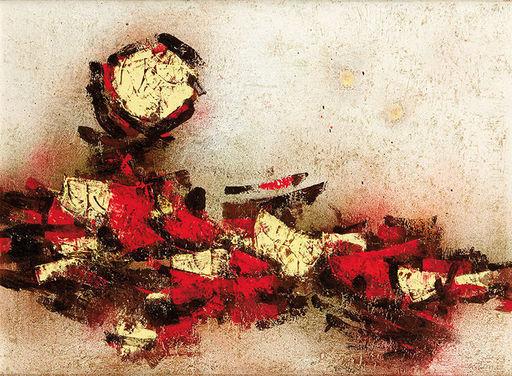 Mordecai ARDON - Painting - Jerusalem