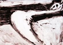 Víctor MIRA - Pintura - Crucifixion